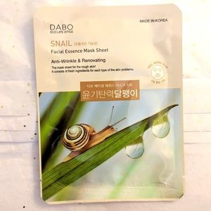 Unopened DABO Korean Snail Face Mask